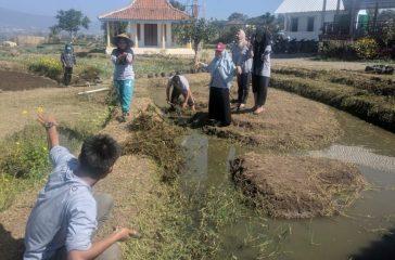 Puluhan Mahasiswa UMM Bangun Tawang Argo Edu Tourism