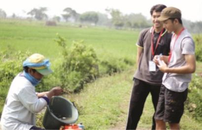Farmer Visit Prodi Agribisnis, Observasi Prospek Usaha Tani 1