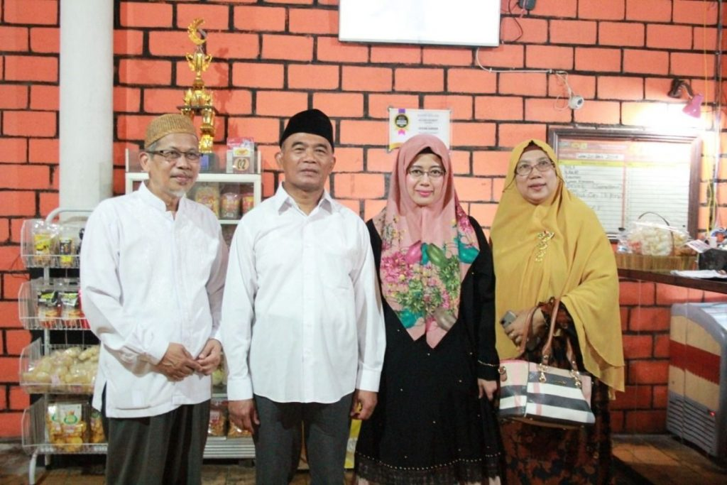 Mendiknas Muhajir Ajak Silaturahmi Anak Panti Muhammadiyah 1