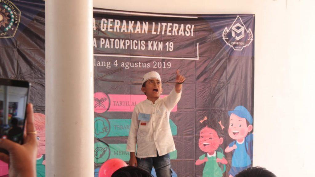 Garap Literasi Tujuh Sekolah KKN 19 UMM Gelar Lomba Puisi 1