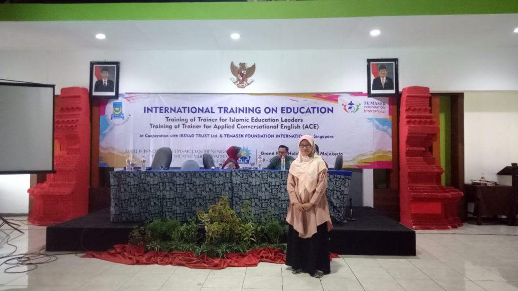 Mamumtaza Kirim Guru Ikut Training Internasional 1