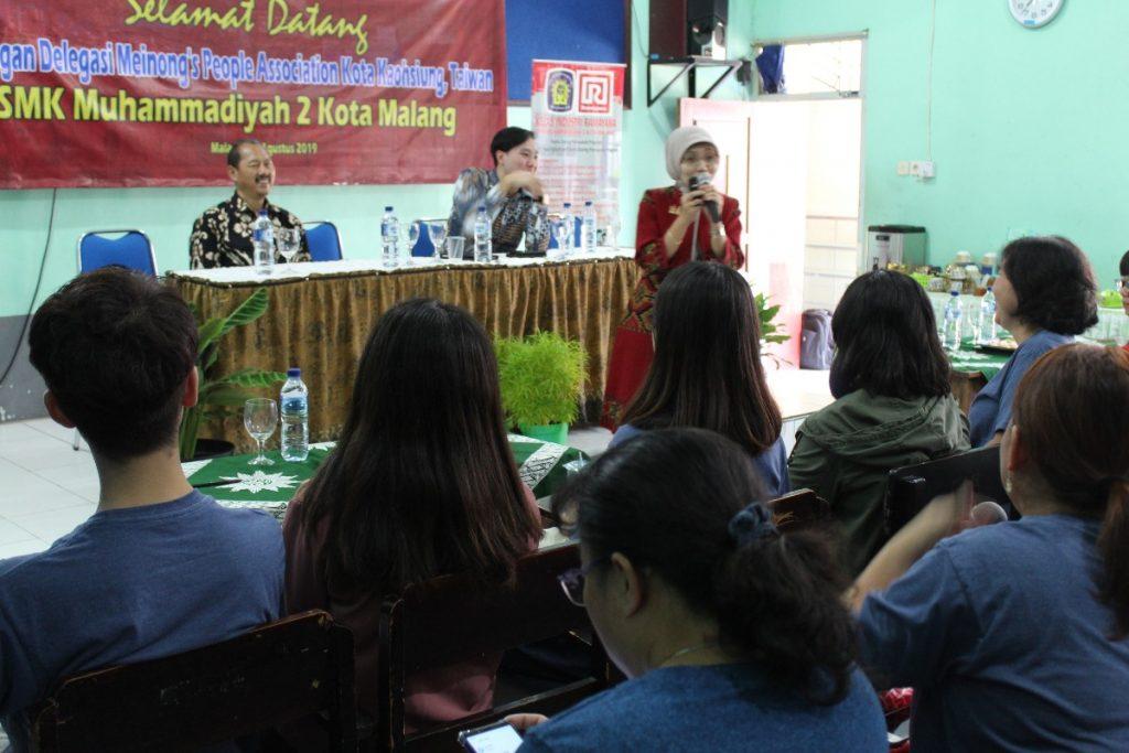 Pada Tamu Taiwan Budiono Jelaskan Sekolah Muhammadiyah di Kota Malang 2