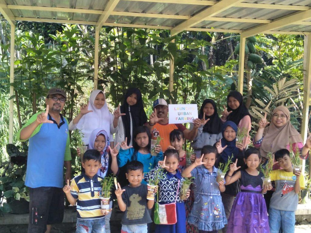 Urban Farming Upaya TL Berdayakan Pangan Keluarga 1