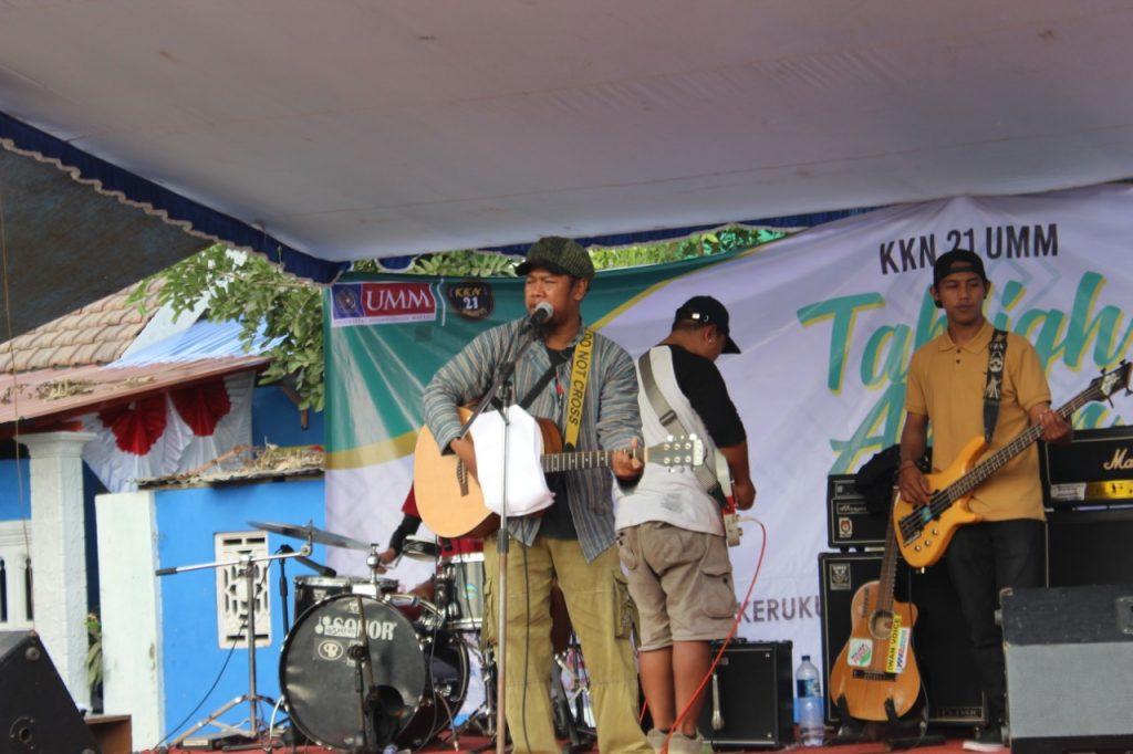 Tabligh Akbar Guyub Rukun Tutup Pengabdian KKN 21 UMM di Sukoanyar 2