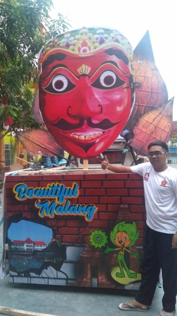 SMK Muda Bikin Topeng Bapang Raksasa, Bawa Pesan Budaya-Kearifan Lokal 2