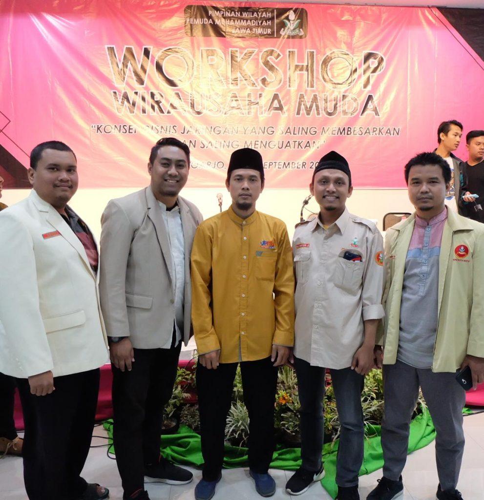 Gelar Workshop Bisnis PW Pemuda Muhammadiyah Jatim Petakan Potensi Usaha 1