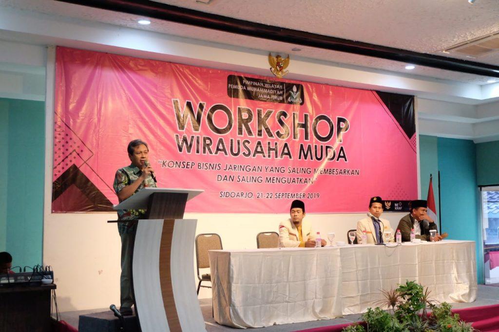 Gelar Workshop Bisnis PW Pemuda Muhammadiyah Jatim Petakan Potensi Usaha 2