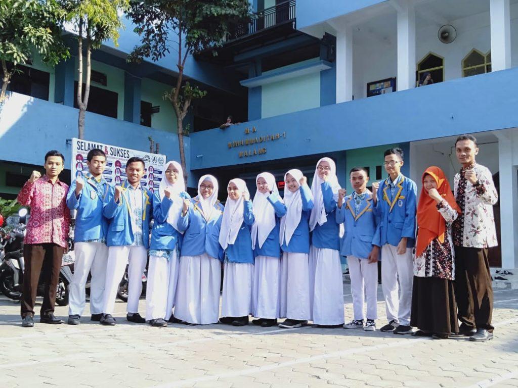 Empat Siswa MA Muhammadiyah 1 Kota Malang, Borong Juara Ajang ME Award 2019 2