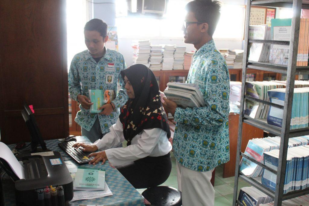 Tambah Wawasan dan Ilmu Pengetahun, SMA Muhammadiyah 1 Kota Malang Kembangkan Perpustakaan Berbasis IT 1