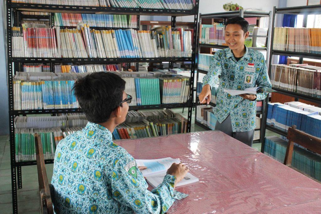 Tambah Wawasan dan Ilmu Pengetahun, SMA Muhammadiyah 1 Kota Malang Kembangkan Perpustakaan Berbasis IT 2