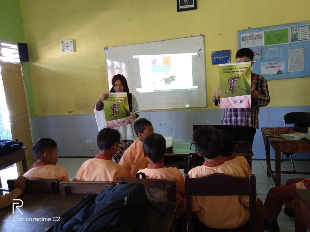 FK UB-Puskesmas Janti, Sosialisasi Bahaya Nyamuk Pada Siswa SD Muhammadiyah 5 Kota Malang 1