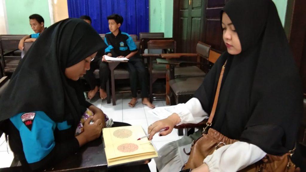 Motivasi Kesehatan Diri Tim Puskesmas Dinoyo Screning Siswa SMK Muda 1