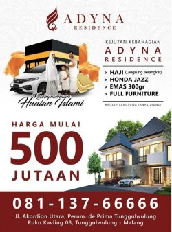 Iklan Adyna Residence
