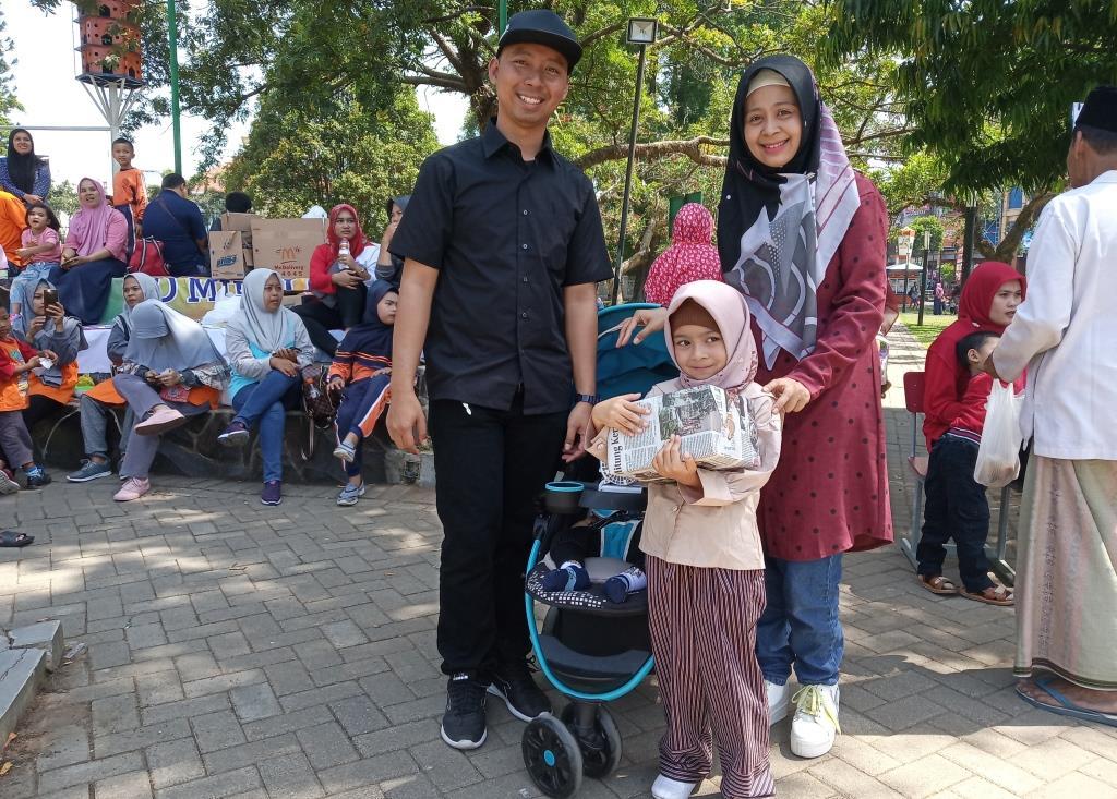 Kolaborasi Kayyisa-Angklung SMK Muhammadiyah 1 Memukau Penonton Milad 1