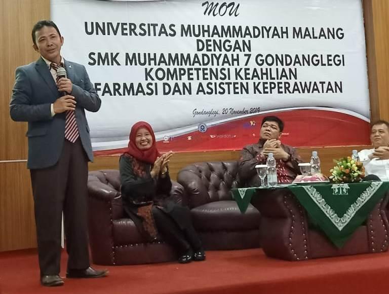 Fikes UMM-SMK Mutu Gondanglegi, Teken MoU Pendampingan Farmasi dan Keperawatan 1