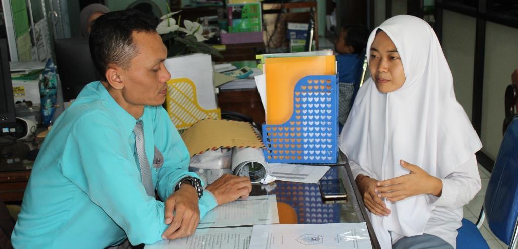 Uswatun Hasanah, Siswa MA Muhammadiyah 1 Kota Malang Perancang Aplikasi Tadabur Alam 1