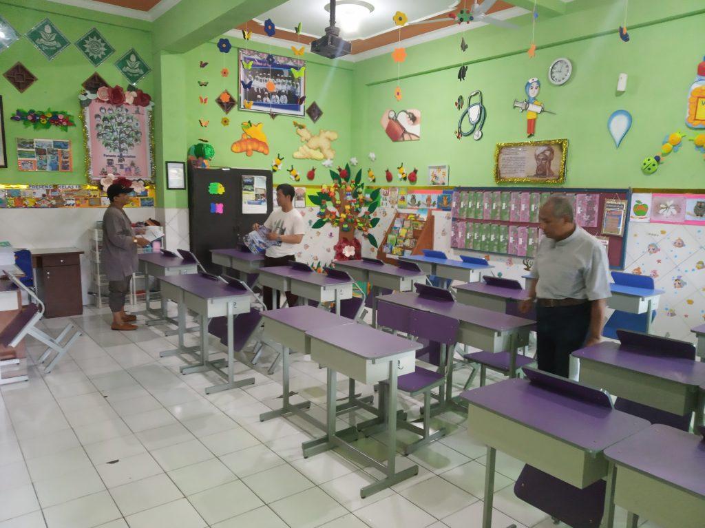 Sambut Milad ke 92 SD Mutu, PCM Klojen Juri Lomba Adiwiyata Kelas 3