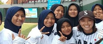 Natasha Siswa SMP Muhammadiyah 2 Kota Malang, Harumkan Nama Sekolah Raih Prestasi Tim Baseball Putri 1