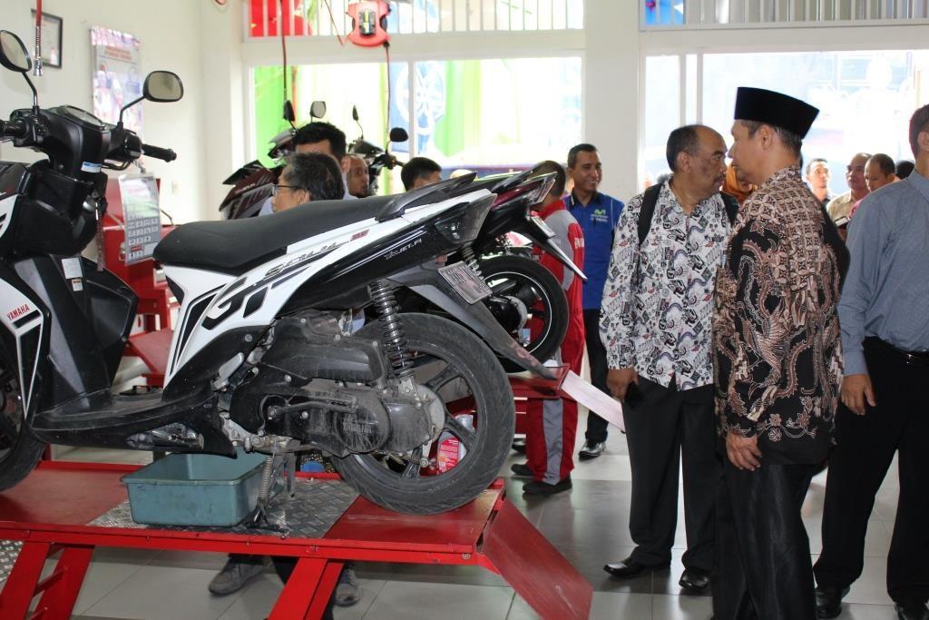 Bengkel TEFA SMK Muhammadiyah 1 Kota Malang Upaya Kompetensi SDM Dunia Kerja 1