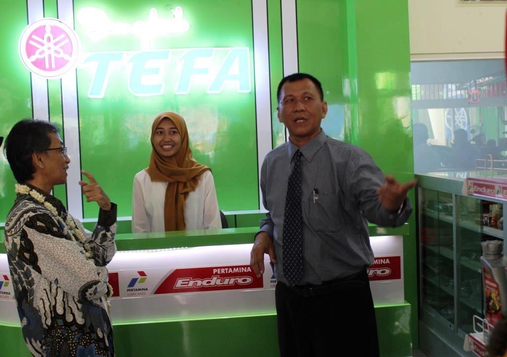 Kasubdit Kurikulum PSMK Kemendikbud RI, Berharap Siswa-Guru SMK Muhammadiyah 1 Kota Malang Otimalkan Bengkel TEFA TBSM 3