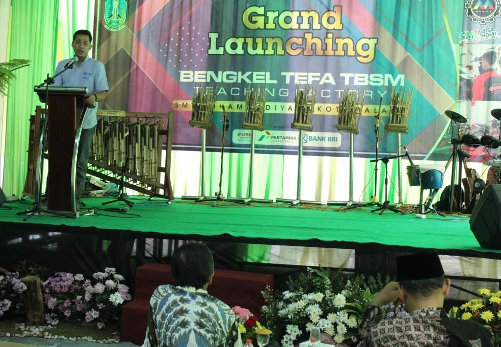 Yamaha-SMK Muhammadiyah 1 Kota Malang, Bagun Sinergi Lulusan Kompetensi Industri 2