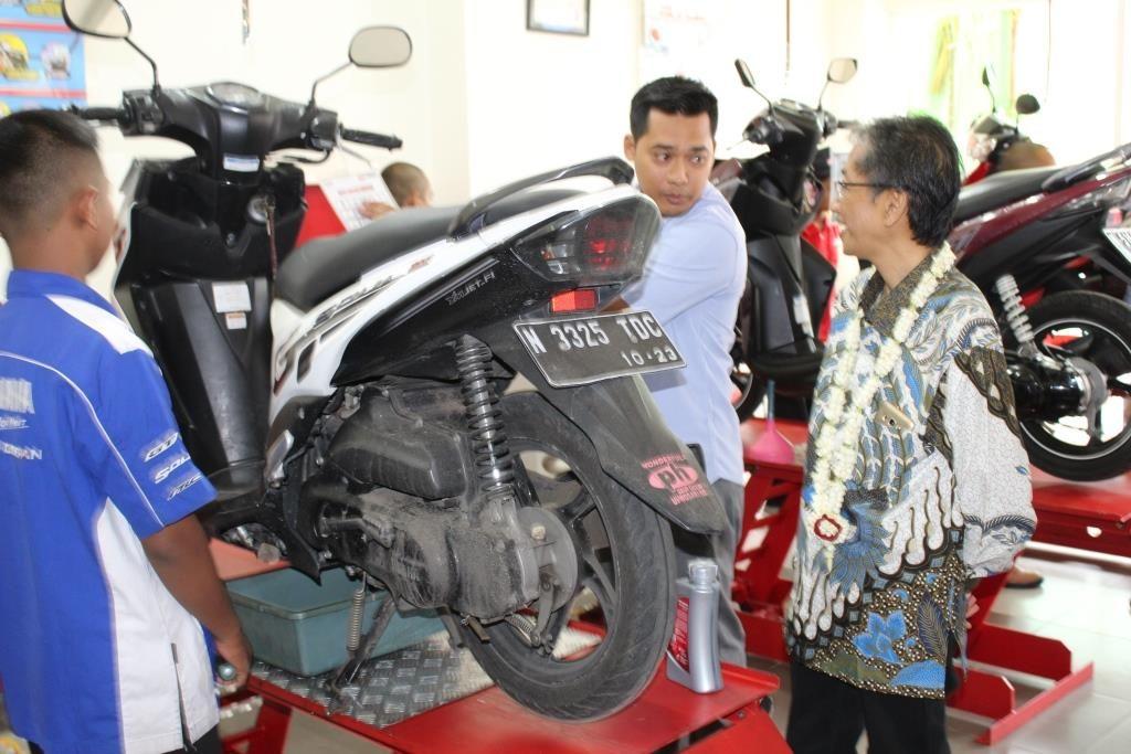 Yamaha-SMK Muhammadiyah 1 Kota Malang, Bagun Sinergi Lulusan Kompetensi Industri 1