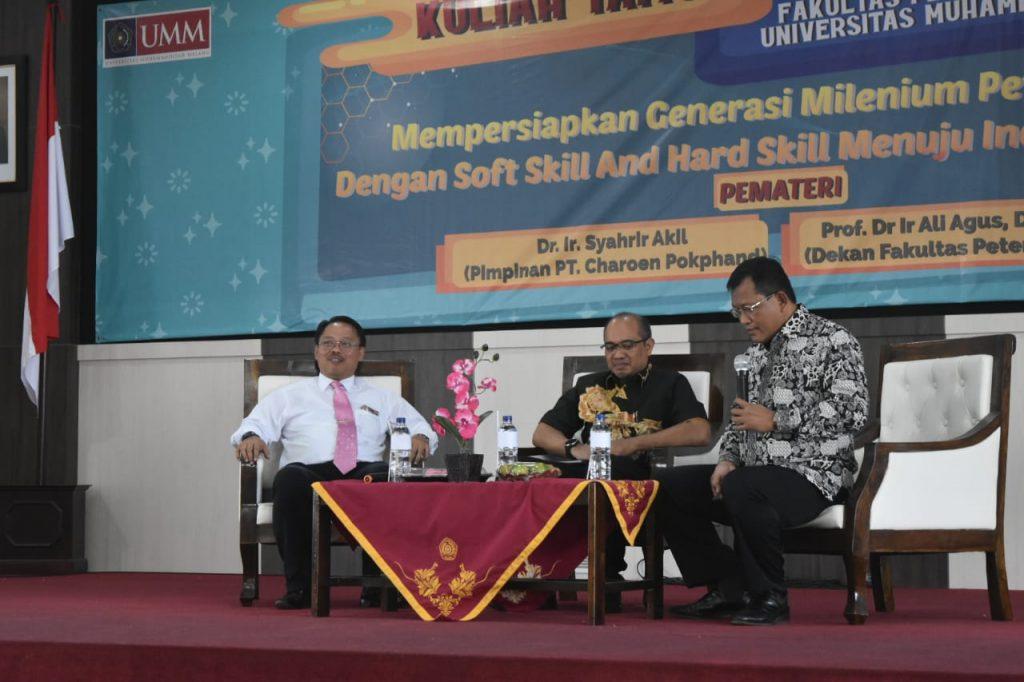 Persiapkan Generasi Unggul Bidang Pangan, Prodi Peternakan FPP UMM Gelar Kuliah Tamu 2