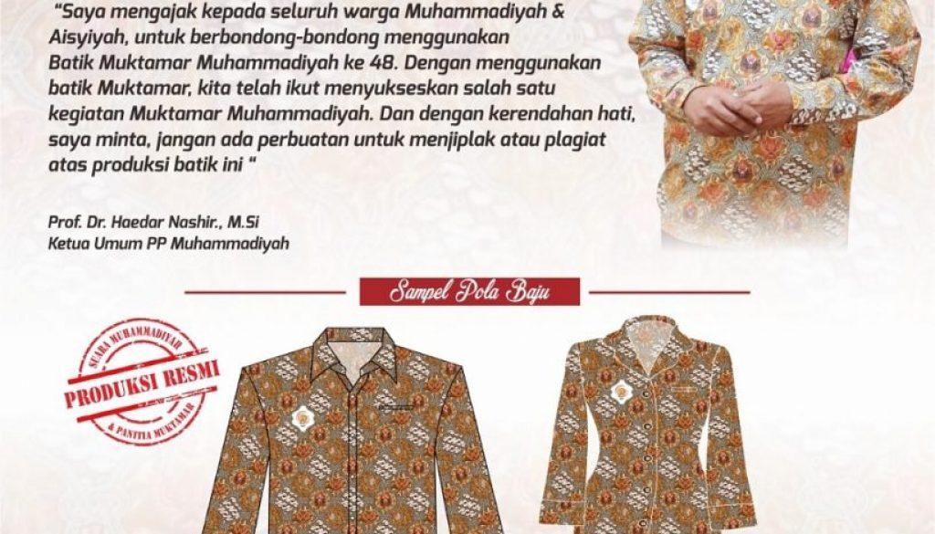 batik muktamar