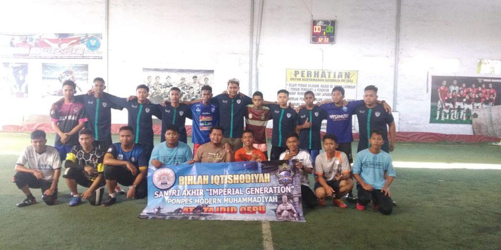 Ponpes At Tajdid - Al Munawarah, Studi Banding Sekaligus Tanding Futsal 2