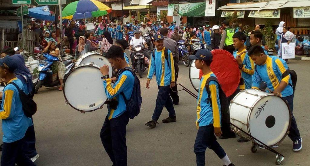 Milad 107 Muhammadiyah di Pagak, Majelis Dikdasmen Kerahkan Ribuan Siswa 1