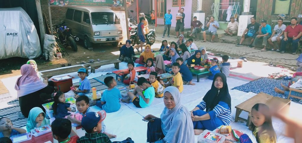 Lomba Mewarna-Festival Makanan Tradisional, Semarak Hari Anak Sabaro 1
