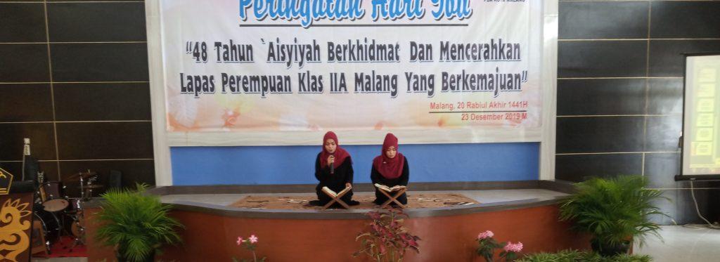 Aisyiyah Malang Ubah Lapas Perempuan Menjadi Ponpes Warga Binaan 1