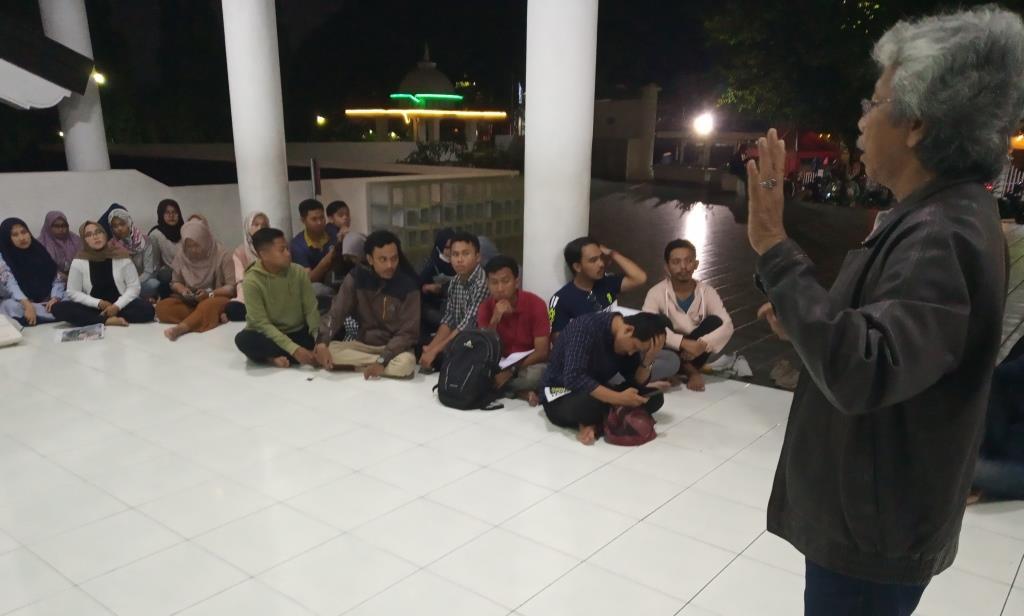 Pembekalan KKN UMM Probolinggo, DPL Amir Syarifudin Beri Kesempatan Tabloid MataHati Sosialisasi Media Partner 2