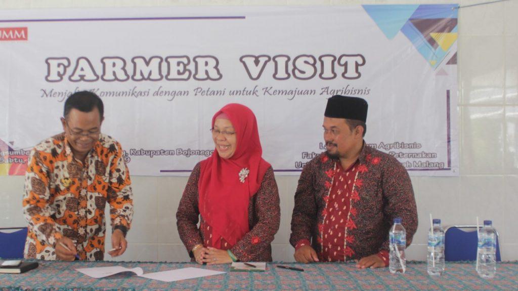 Farmer Visit Mahasiswa Agribisnis FPP UMM Observasi Petani di Bojonegoro 1