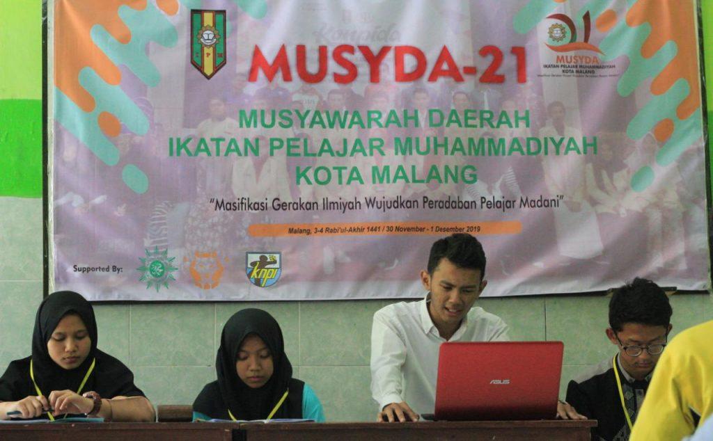 Duet Farhan-Ibnu PD IPM Kota Malang, Fokus Proker Pelajar Literasi 2