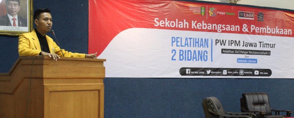 PW IPM Gelar Sekolah Kebangsaan Fokus Literasi-Dakwah Islam 1