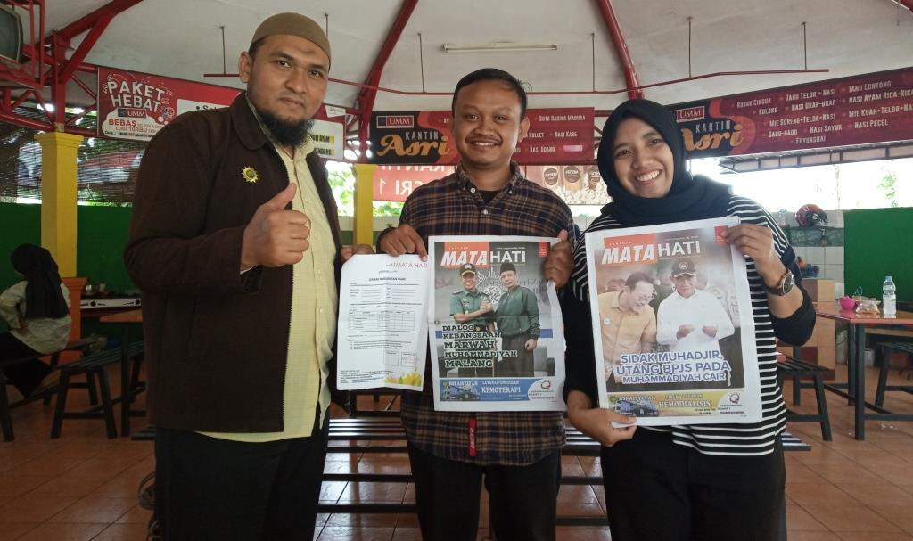 KKN 24 UMM-Tabloid MataHati Teken MoU Sebagai Media Partner Pengabdian Pujon Kidul 3