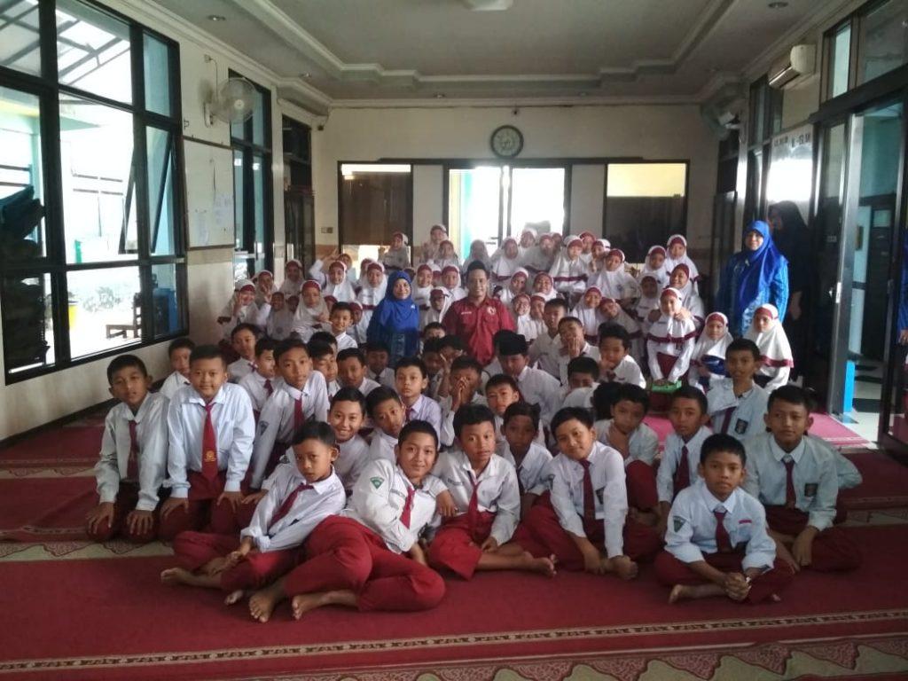 Gandeng Polres Pasuruan, SD Muhammadiyah 6 Bedali Lawang Penyuluhan Bahaya Narkoba 2