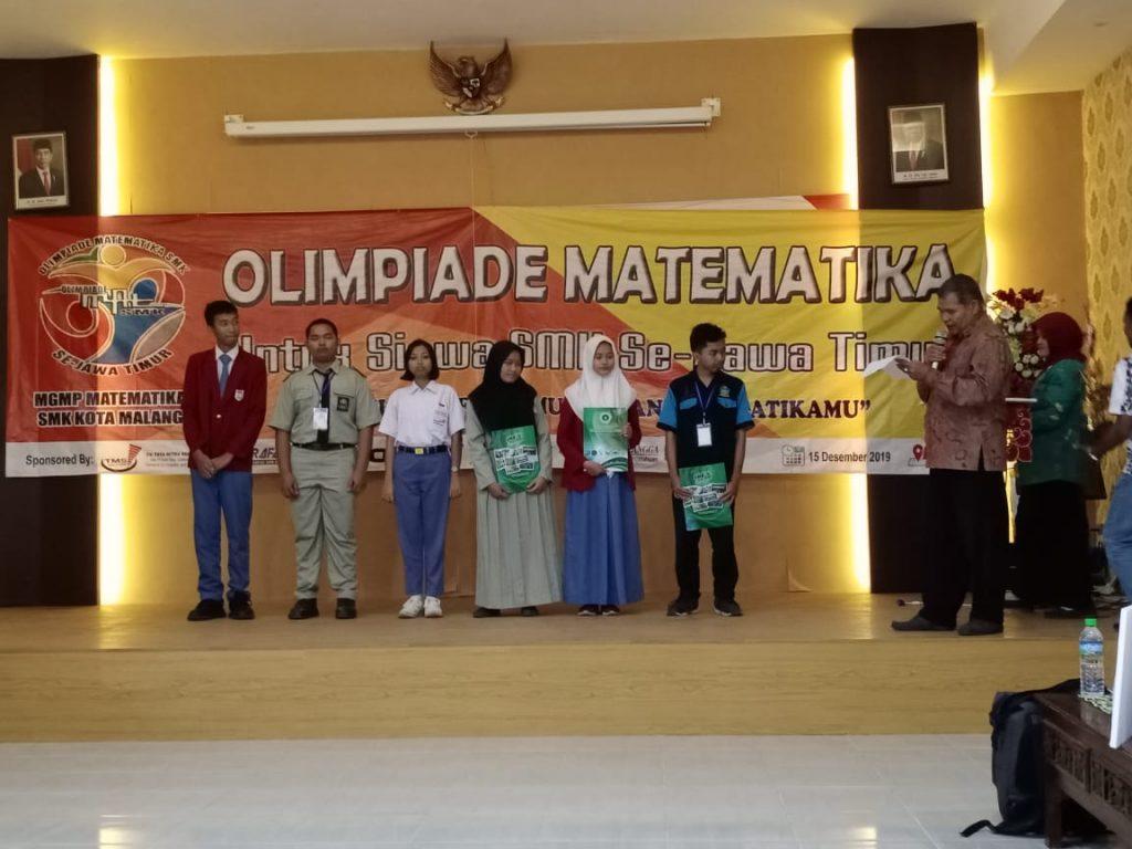Jud Akmal Muktar Siswa SMK Muda Juara Olimpiade Matematika Jatim 2