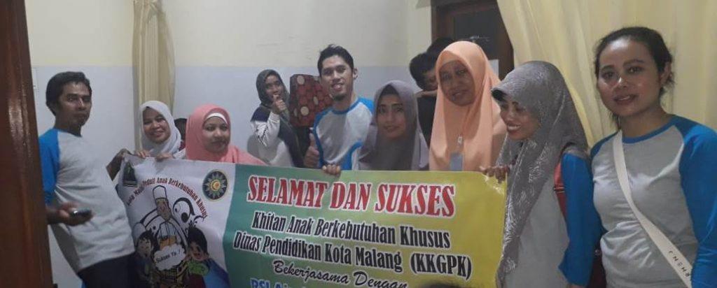 RSI Aisyiyah-KKGPK Diknas Kota Malang Khitan Puluhan ABK 1