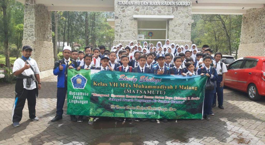 Matsamutu Ajak Siswa Studi Ekologi, Tadabur Alam Misi Selamatkan Lingkungan 1
