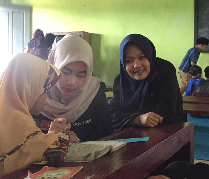 Paginya Kerja Bakti, Sore Hari Mengajar Bimbel-Ngaji TPQ 1