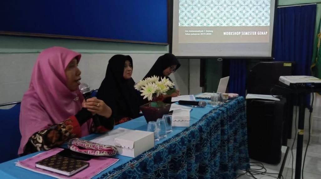 Sambut Kebijakan Baru, Dewan Guru Mamumtaza Gelar Workshop Pendidikan Merdeka Belajar 2