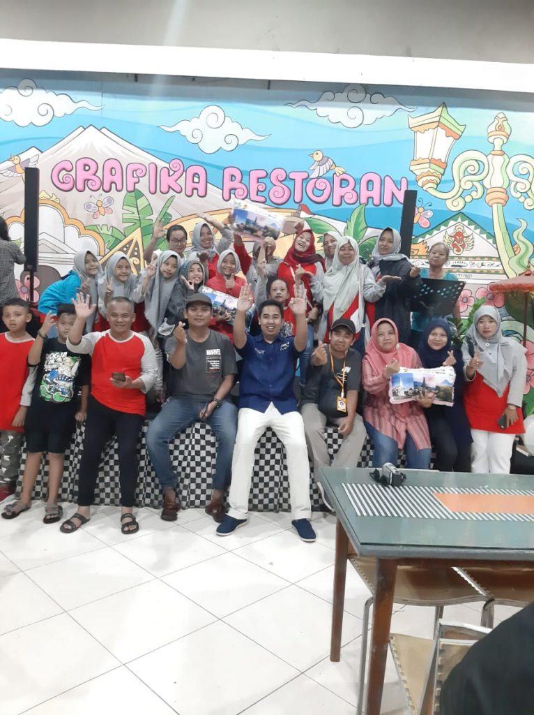 Kesamaan Profesi Guru-Harga Persahabatan, Marvel Matsamutu Layani Siswa SDN Dinoyo 1 Studi Banding 2