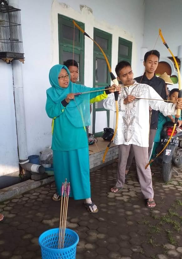PCA Aisyiyah Turen, Latihan Memanah Amalkan Olahraga Sunnah 1