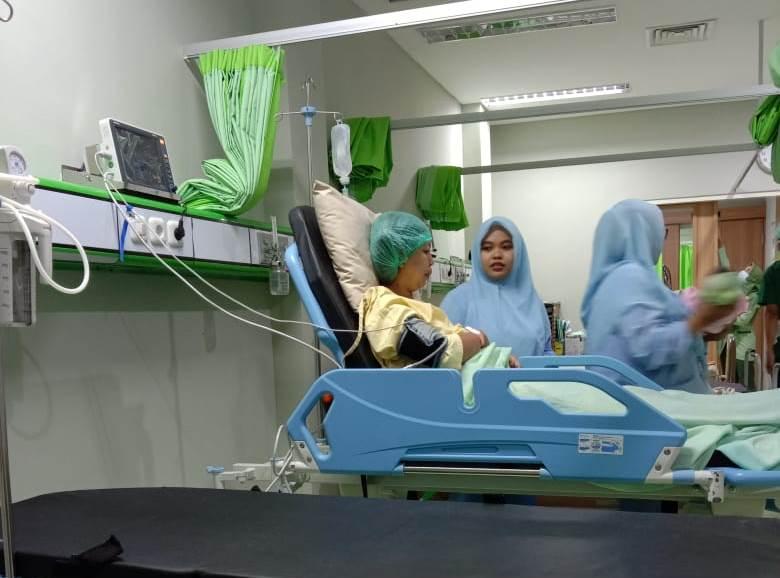 Alhamdulillah Saya Sudah Bisa berjalan, Paska Operasi Terasa Nyaman, Inginnya Cepat Pulang 1