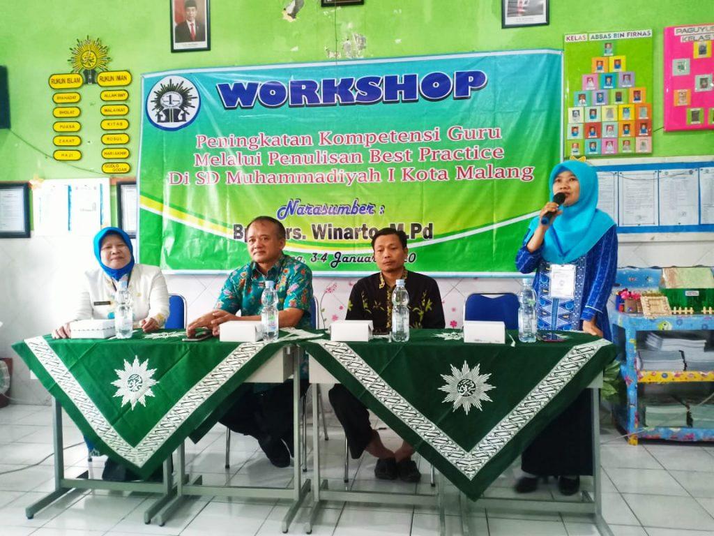 Puluhan Guru SD Mutu Dilatih Menulis Ala Best Practice 1