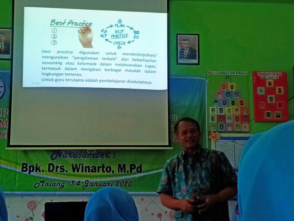 Puluhan Guru SD Mutu Dilatih Menulis Ala Best Practice 2