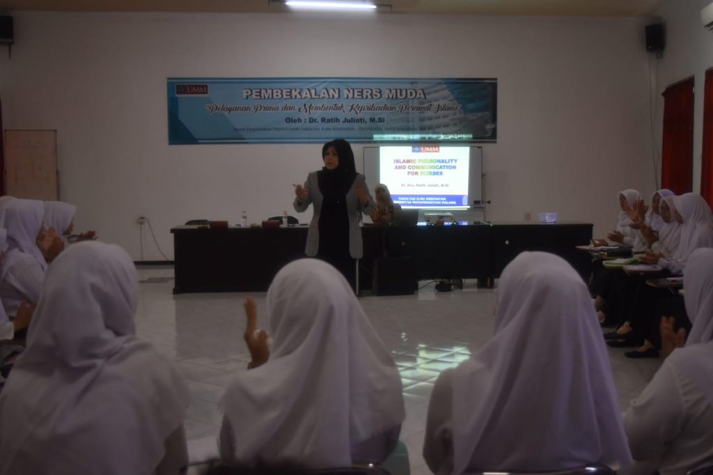 Bekali Mahasiswa FIKES UMM Soft Skill, Bentuk Kepribadian Perawat Islami, Terampil, Unggul 2