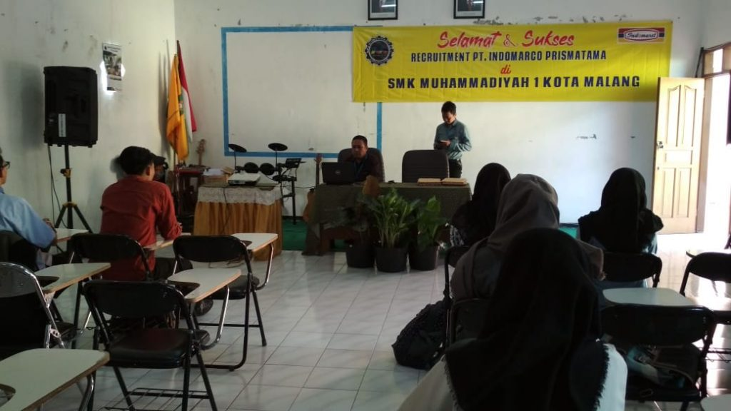 Indomarco Lirik Kerja Siswa SMK Muhammadiyah 1 Kota Malang 1